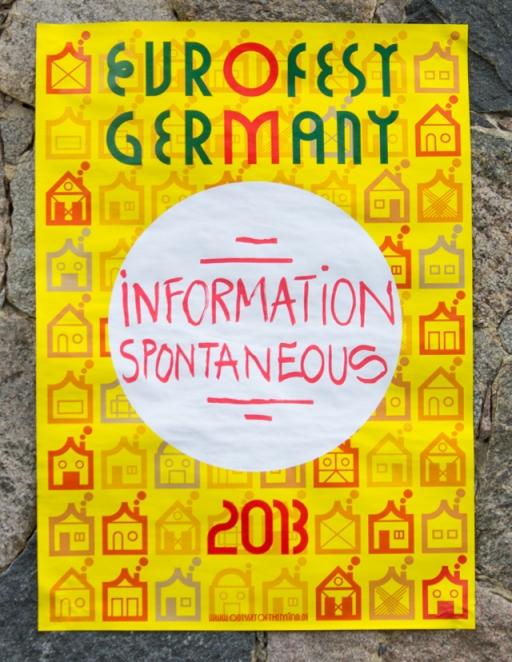 Martin Gnadt — Kommunikationsdesign Eurofest poster