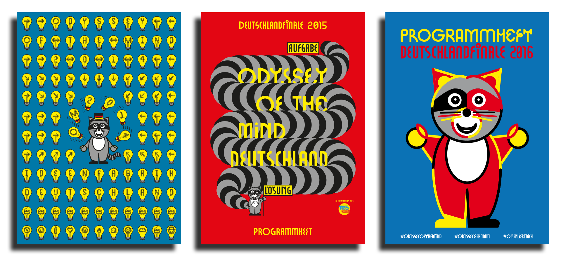 Martin Gnadt — Kommunikationsdesign Odyssey of the Mind Deutschland visual identity