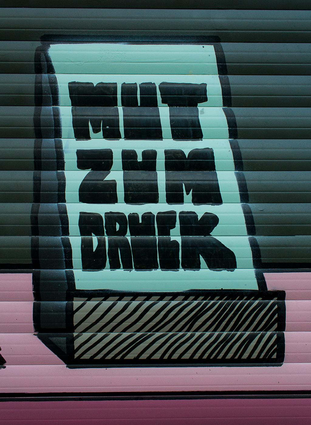 Martin Gnadt — Kommunikationsdesign ERLESEN mural