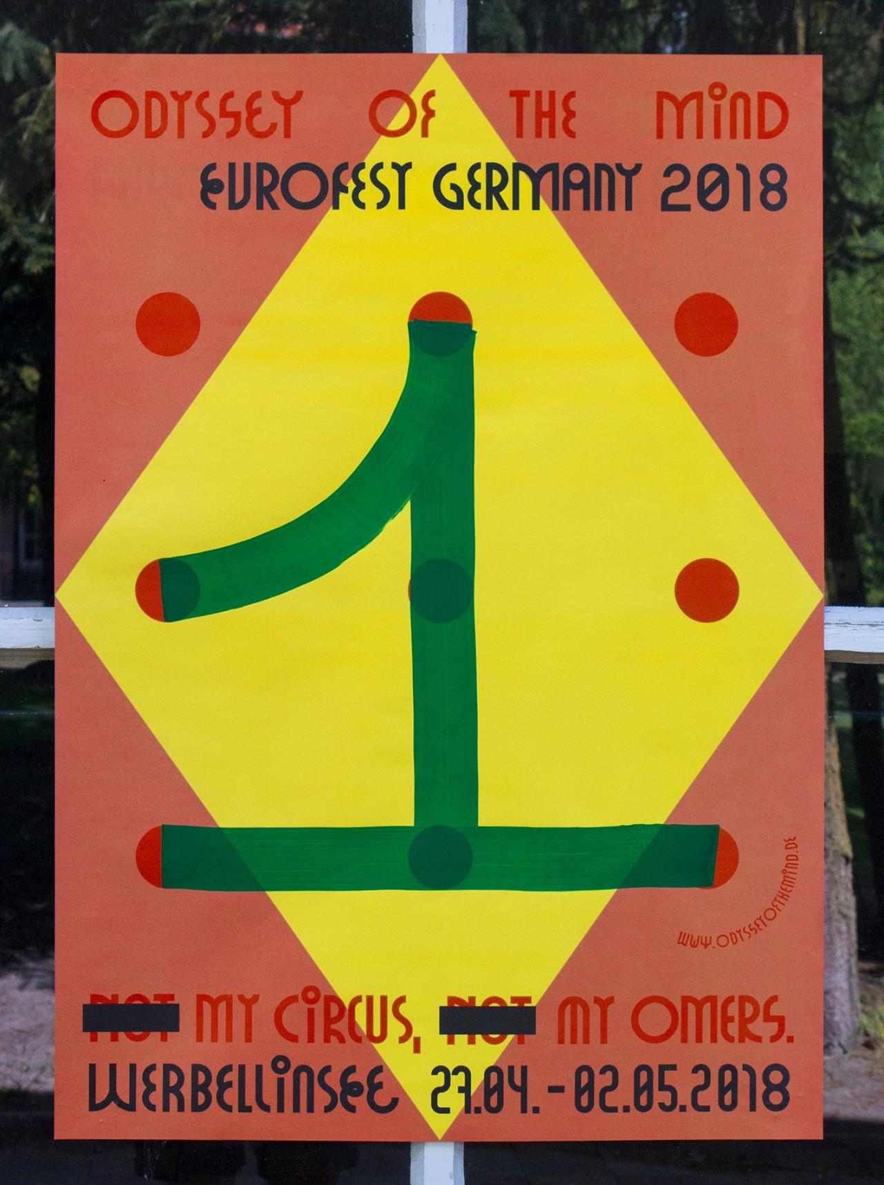 Martin Gnadt — Kommunikationsdesign EUROFEST 2018