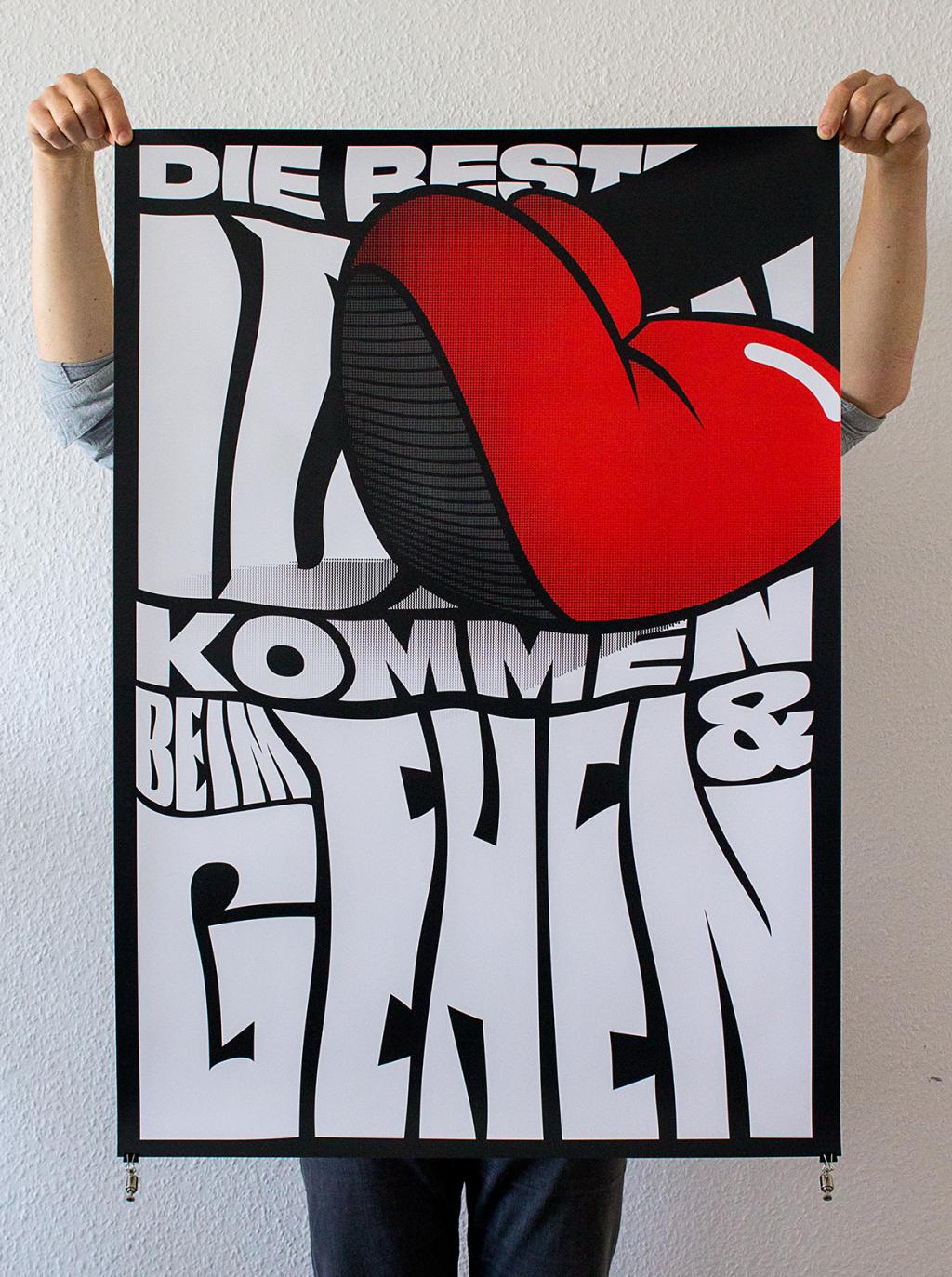 Martin Gnadt — Kommunikationsdesign DIE BESTEN IDEEN poster